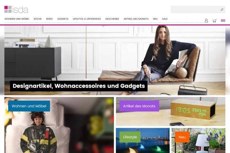 <span style='font-size: large;'>Shopvorstellung</span><br />ISDA – Design, Lifestyle und mehr