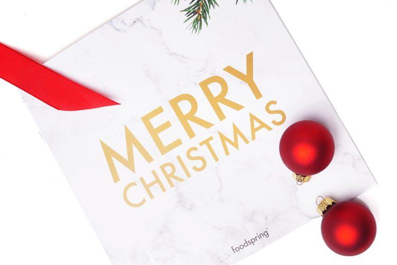 <span style='font-size: large;'>Fit durch die Weihnachtszeit</span><br />Der foodspring Adventskalender ist da!