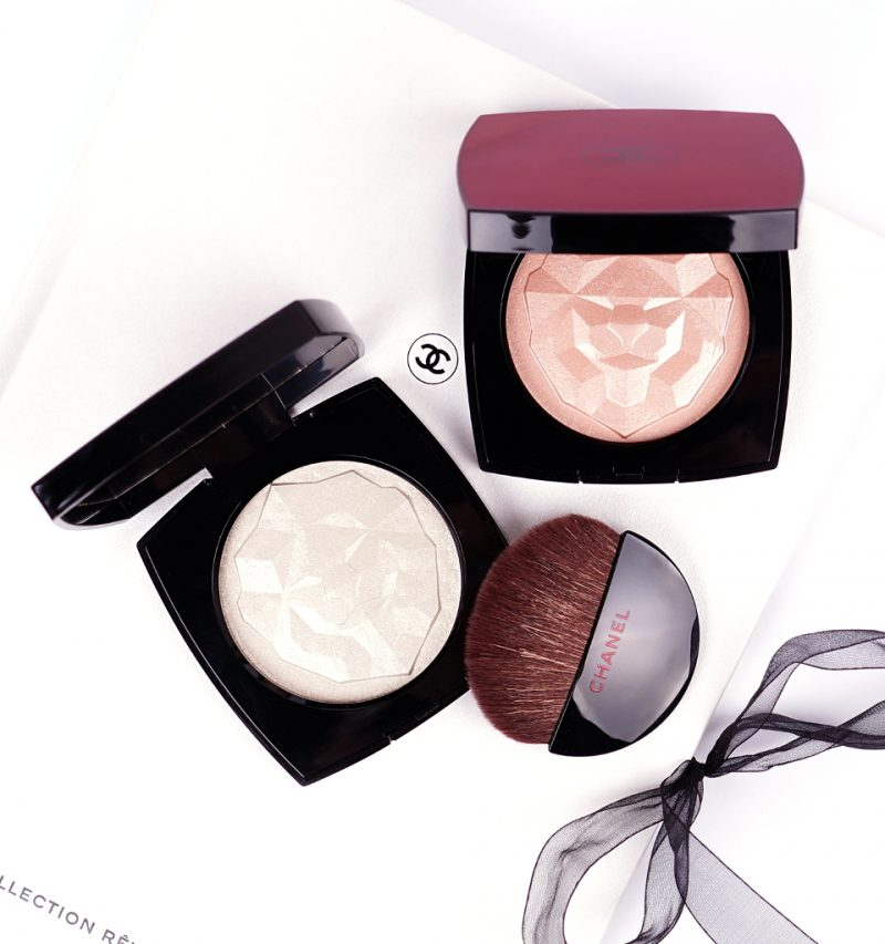 Chanel Le Signe Du Lion Highlighter in Or Blanc und Or Rose