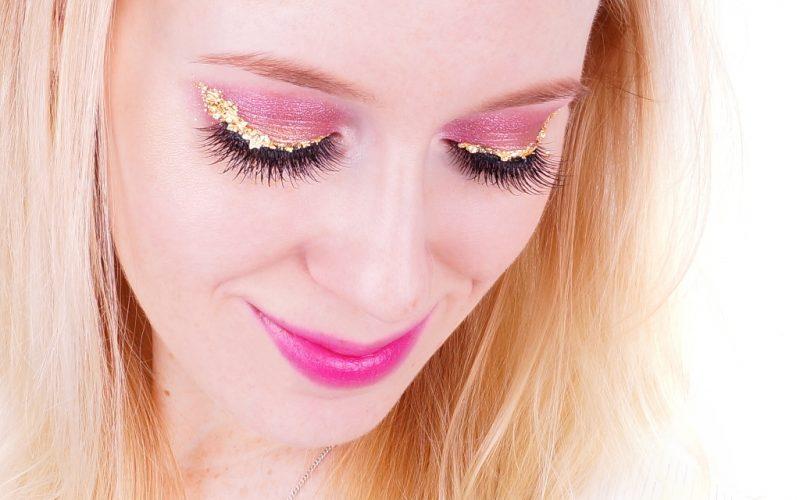 Lidschatten 1x1 Make up Pink und Gold