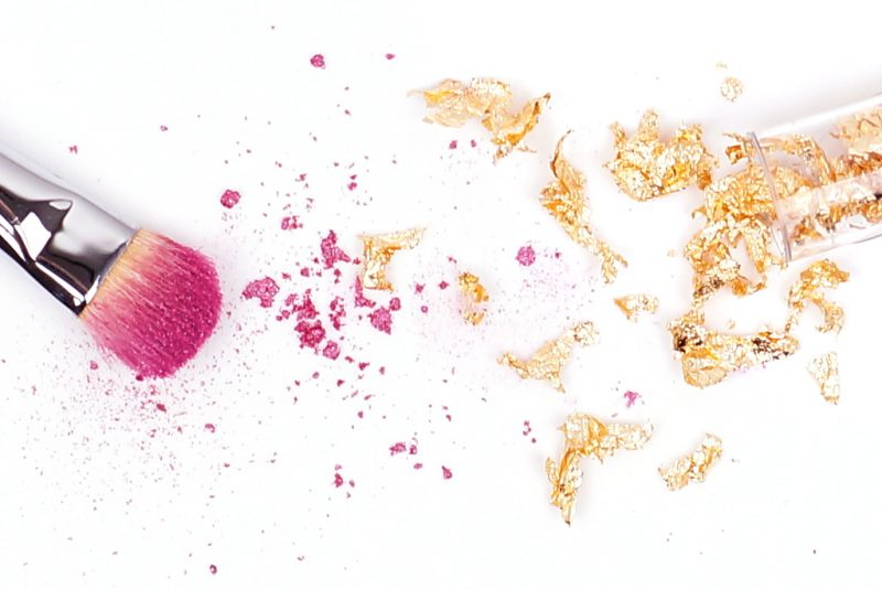<span style='font-size: large;'>Lidschatten 1 x 1 </span><br />Pink trifft Gold