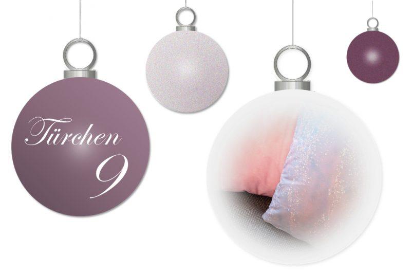 <span style='font-size: large;'>Weihnachtszauber 2017</span><br />Türchen 9 • Schöne Kissen von HelloSunday