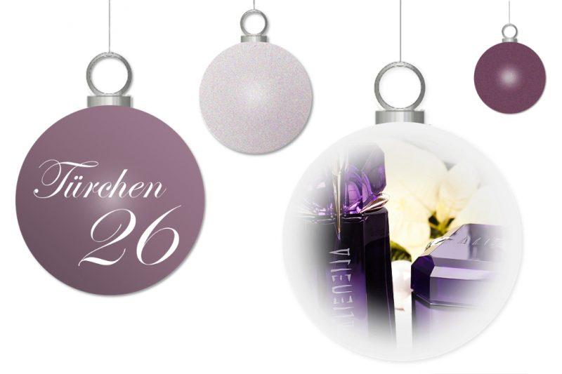 <span style='font-size: large;'>Weihnachtszauber 2017</span><br />Türchen 26 mit Mugler