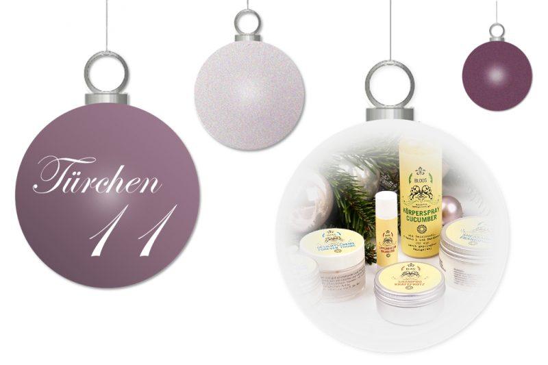 <span style='font-size: large;'>Weihnachtszauber 2017</span><br />Türchen 11 mit BLOOS Kosmetik