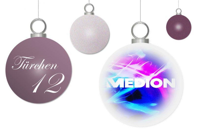 <span style='font-size: large;'>Weihnachtszauber 2017</span><br />Türchen 12 mit MEDION