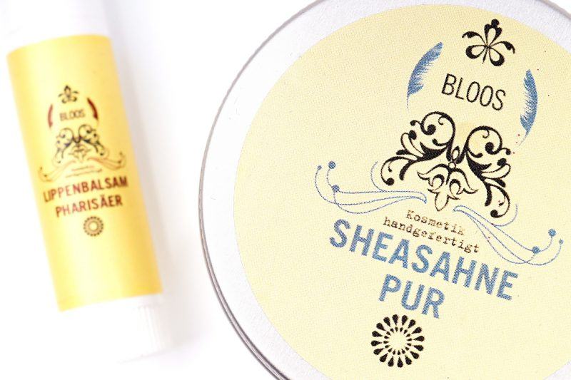 <span style='font-size: large;'>BLOOS Kosmetik </span><br />Shea Butter Pur & Lippenbalsam Pharisäer