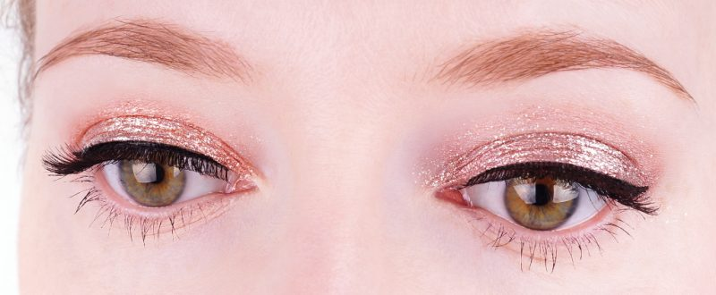 Stila Magnificent Metals Glitter & Glow Liquid Eye Shadow Smouldering Satin & Kitten Karma