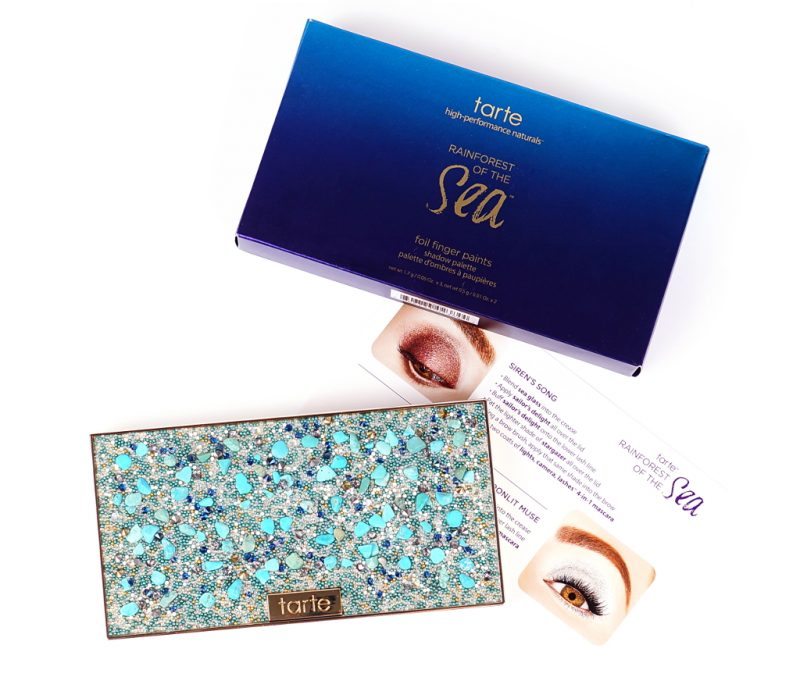 Tarte Cosmetics Rainforest of the Sea™ foil finger paints shadow palette