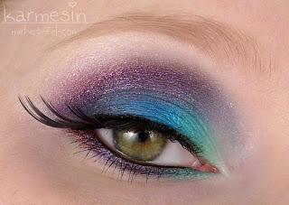 [Look] Colorful Smokey Eye