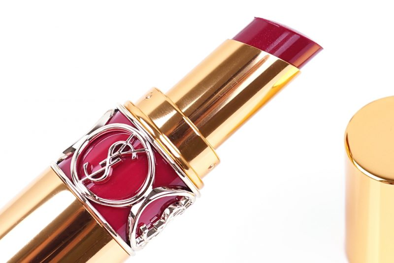 <span style='font-size: large;'>Yves Saint Laurent </span><br />Rouge Volupté Shine N° 48 Smoking Plum