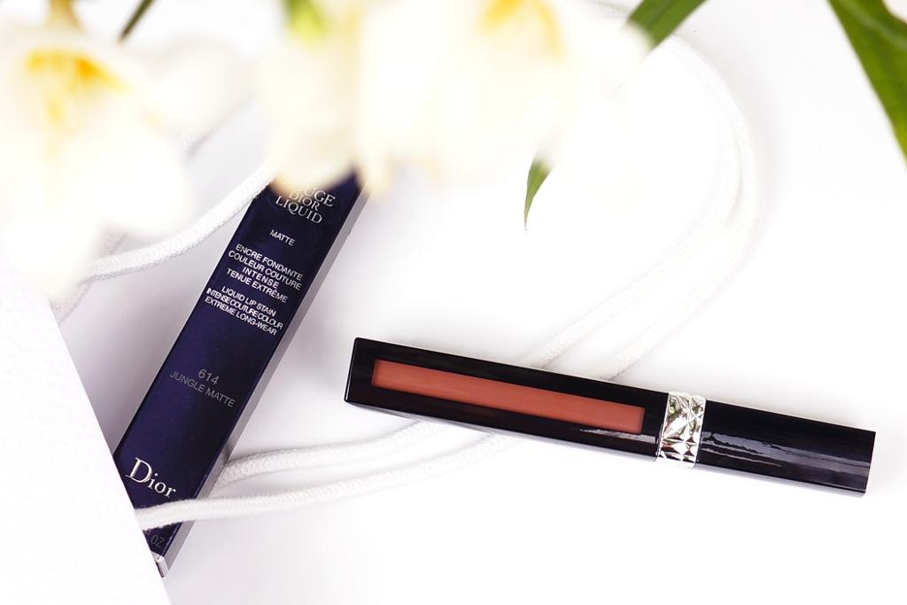 Dior Rouge Dior Liquid 614 Jungle Matte - Review und Swatches