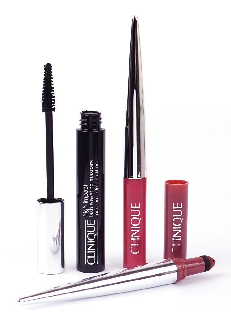 Clinique Pop Lip Shadow Cushion Matte Lip Powder & High Impact Lash Elevating Mascara
