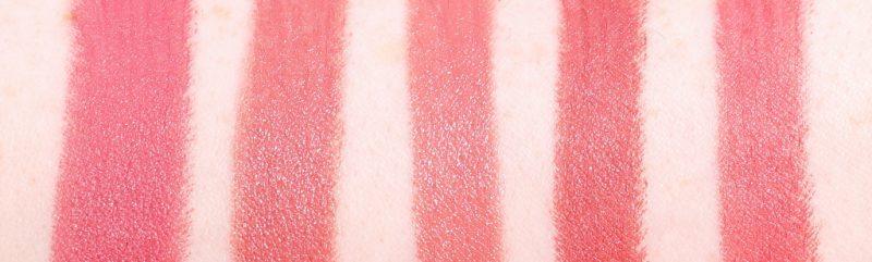 MAC Niki Minaj Nudes Lipstick MMMMMM Swatches