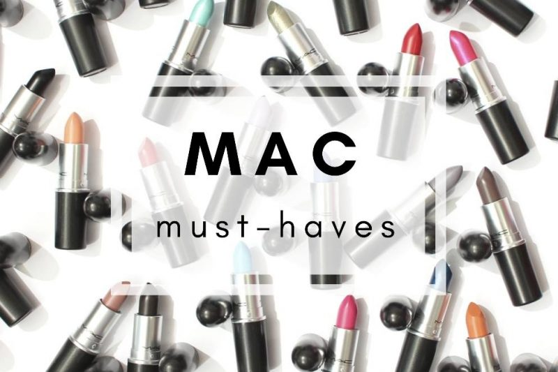 <span style='font-size: large;'>Bloggerwoche</span><br />Meine MAC Must-haves