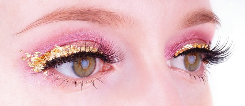 Pink Gold Make up Lidschatten 1x1