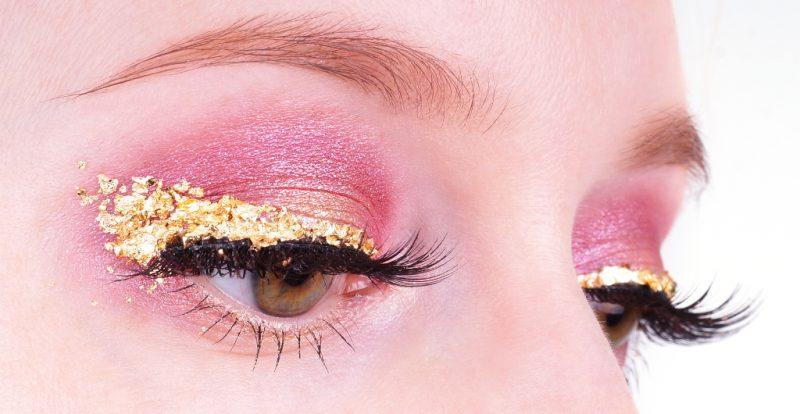 Pink Gold Make up Lidschatten 1x1