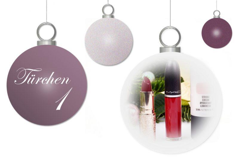 <span style='font-size: large;'>Weihnachtszauber 2017</span><br />Türchen 1 mit MAC Cosmetics