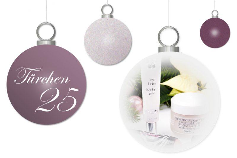 <span style='font-size: large;'>Weihnachtszauber 2017</span><br />Türchen 25 mit Sisley
