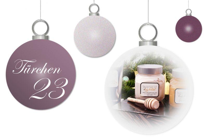 <span style='font-size: large;'>Weihnachtszauber 2017</span><br />Türchen 23 mit Laura Mercier