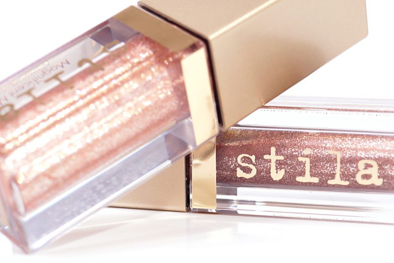 <span style='font-size: large;'>Stila Magnificent Metals Glitter & Glow Liquid Eye Shadow </span><br />Smouldering Satin & Kitten Karma