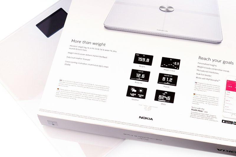 <span style='font-size: large;'>Eine Waage mit Extras </span><br />Die Nokia | Health Body+