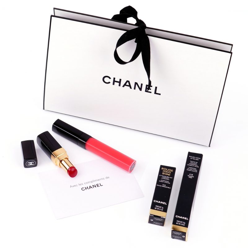 Chanel Lip Blush Tender Pink Rouge Coco Shine 144