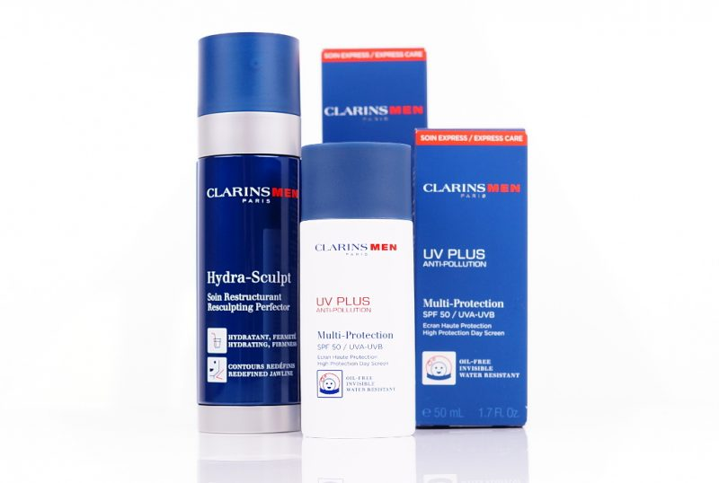 ClarinsMen Hydra-Sculpt & UV-Plus