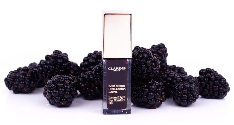 Clarins Summer 2018 Eclat Minute Huile Confort Lèvres 08 blackberry
