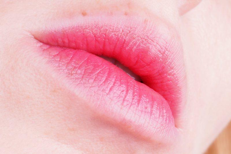 Korean Gradiant Lips (Innisfree Real Fit Creamy Lipstick 7)