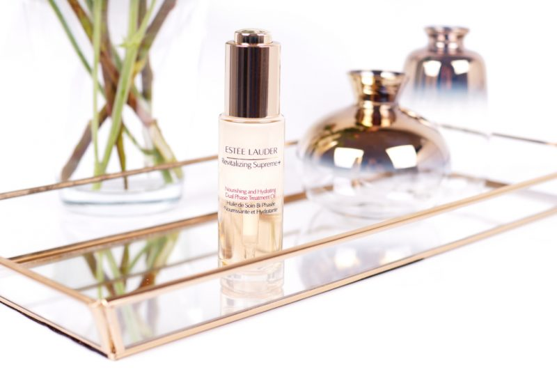 <span style='font-size: large;'>Estée Lauder Revitalizing Supreme + </span><br />Nourishing and Hydrating Dual Phase Treatment Oil