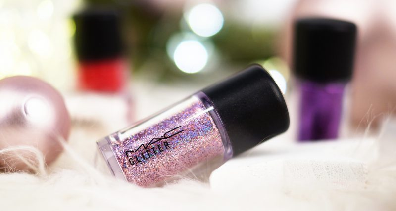 MAC SHINY PRETTY THINGS PARTY FAVOURS MINI GLITTER & PIGMENTS: PINK