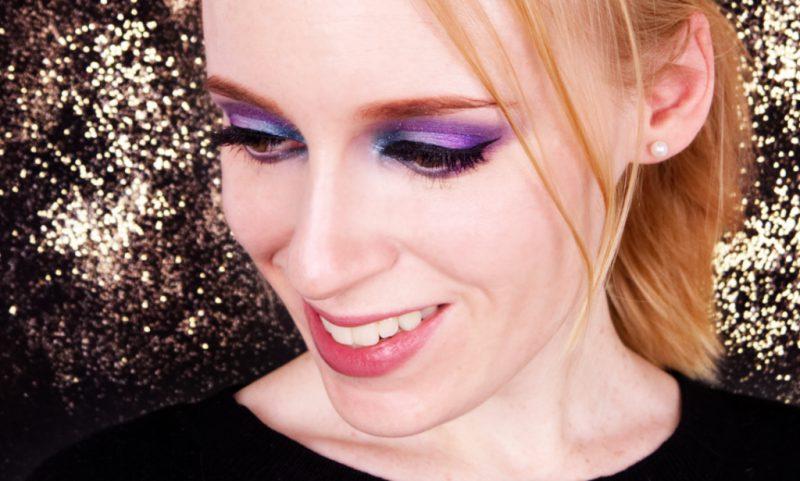 Silvester Make up mit YSL Midnight Garden
