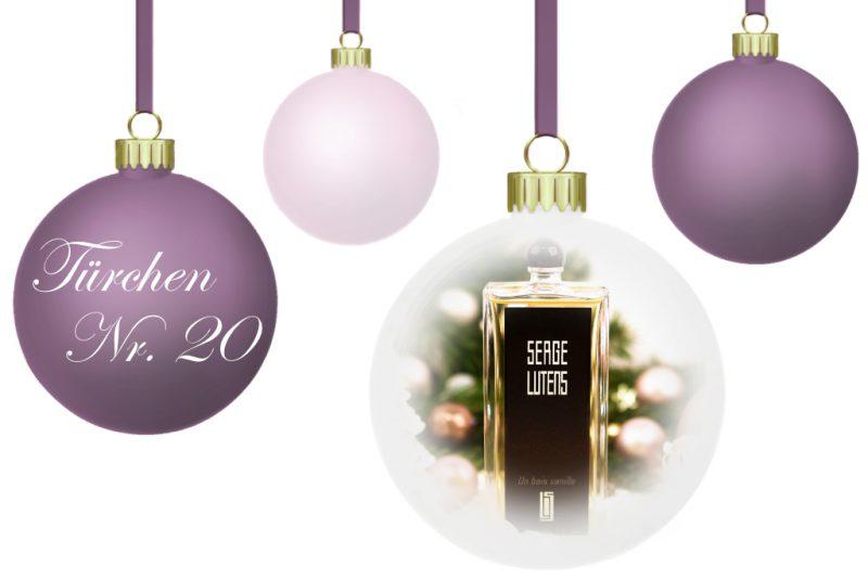 <span style='font-size: large;'>Weihnachtszauber 2018 </span><br />Türchen Nr. 20 mit Serge Lutens