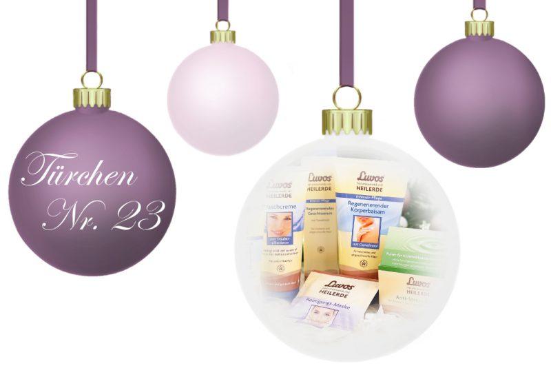 <span style='font-size: large;'>Weihnachtszauber 2018 </span><br />Türchen Nr. 23 mit Luvos