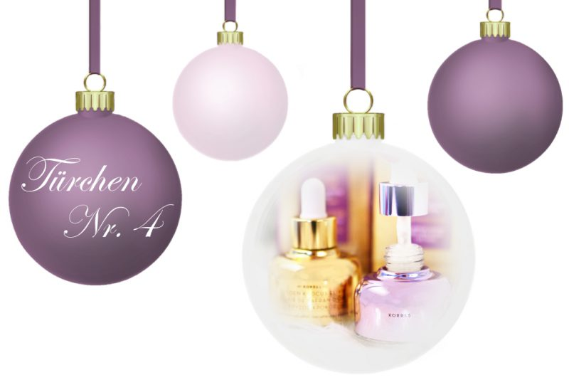 <span style='font-size: large;'>Weihnachtszauber 2018</span><br />Türchen Nr. 4 mit Korres