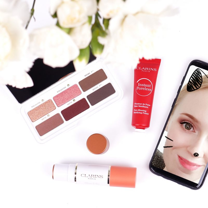 Selfie ready with Clarins Frühlingskollektion 2019