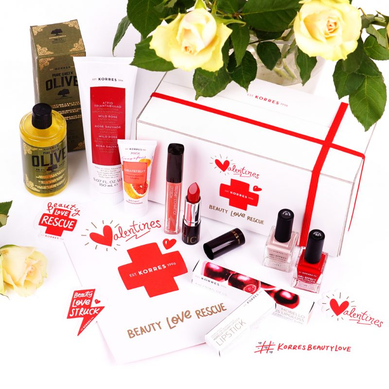 <span style='font-size: large;'>Inklusive Instagram-Gewinnspiel </span><br />Korres Valentines Beauty Love Rescue Kit