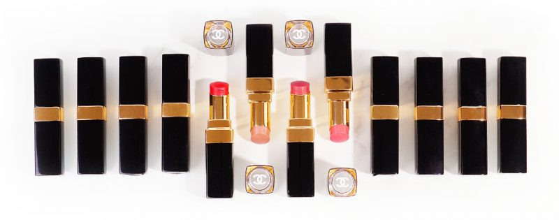 Chanel Rouge Coco Flash Boy, Rush, Emotion, Live