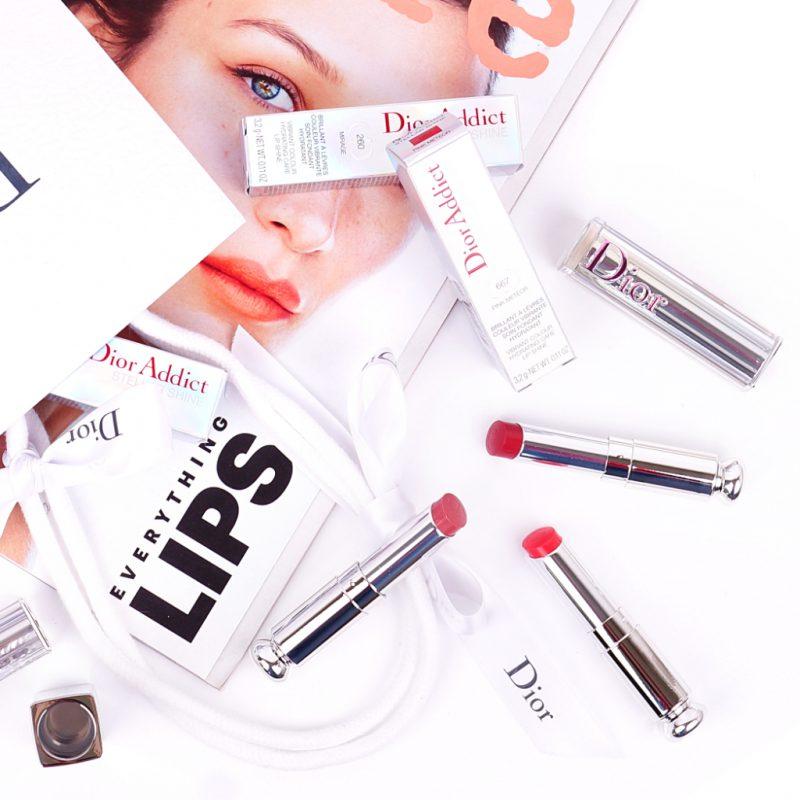 <span style='font-size: large;'>Die neuen Dior Addict Stellar Shine Lipsticks </span><br />260 Mirage, 554 Diorsolar & 667 Pink Meteor