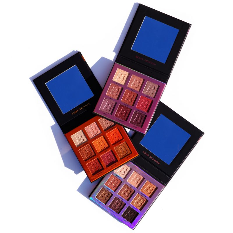 <span style='font-size: large;'>Beauty Bay EYN 9 Colour Palettes</span><br />Nude Shimmer, Berry Shimmer & Fiery Shimmer
