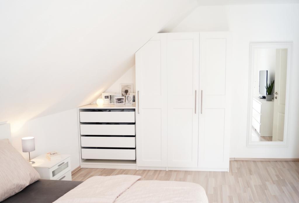 5 Tipps: Räume mit Dachschrägen optimal nutzen - mel et fel