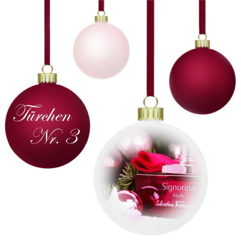<span style='font-size: large;'>Weihnachtszauber 2019 </span><br />Türchen N° 3 mit Salvatore Ferragamo
