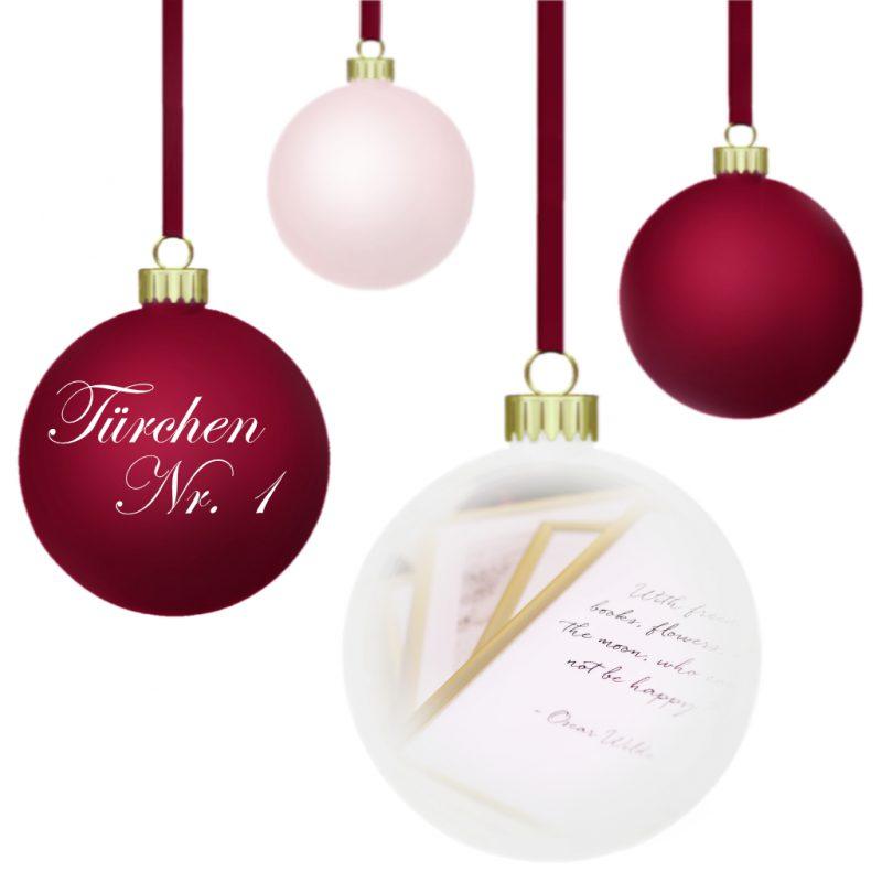 <span style='font-size: large;'>Weihnachtszauber 2019 </span><br />Türchen N° 1 mit Poster Store