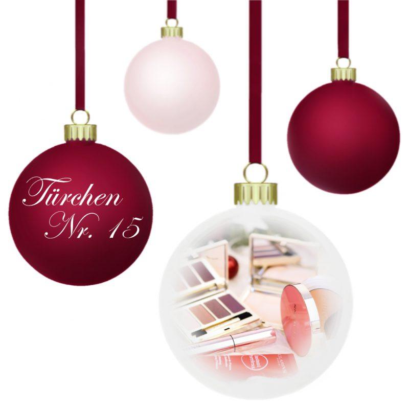 <span style='font-size: large;'>Weihnachtszauber 2019 </span><br />Türchen N° 15 mit Clarins
