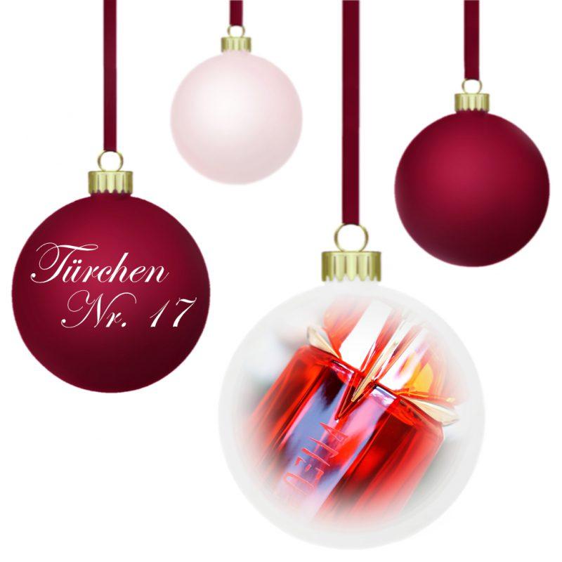 <span style='font-size: large;'>Weihnachtszauber 2019 </span><br />Türchen N° 17 mit Mugler