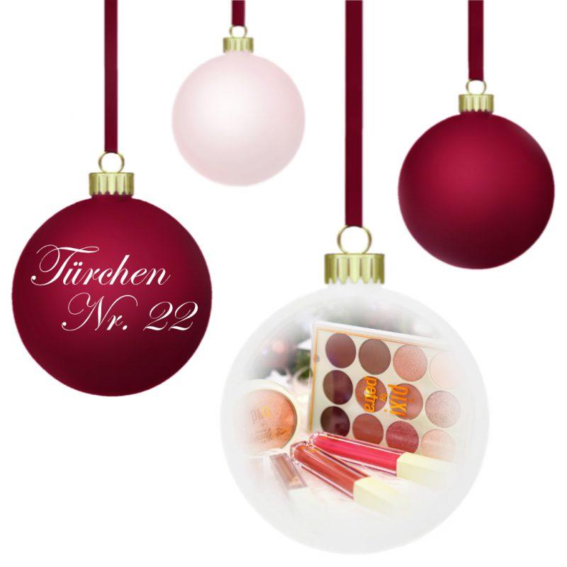 <span style='font-size: large;'>Weihnachtszauber 2019 </span><br />Türchen N° 22 mit PIXI BEAUTY