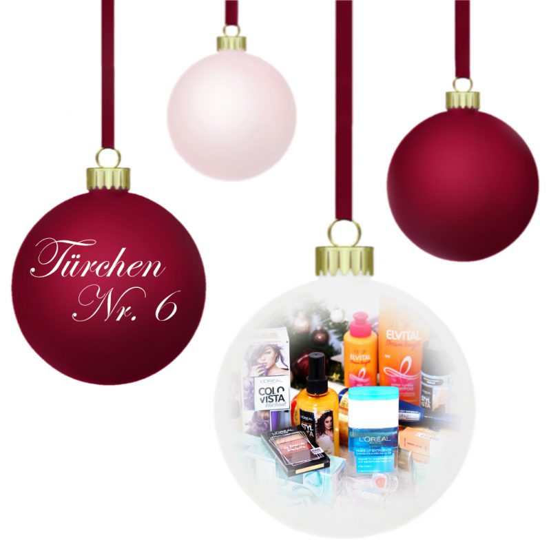 <span style='font-size: large;'>Weihnachtszauber 2019 </span><br />Türchen N° 6 mit L'Oréal