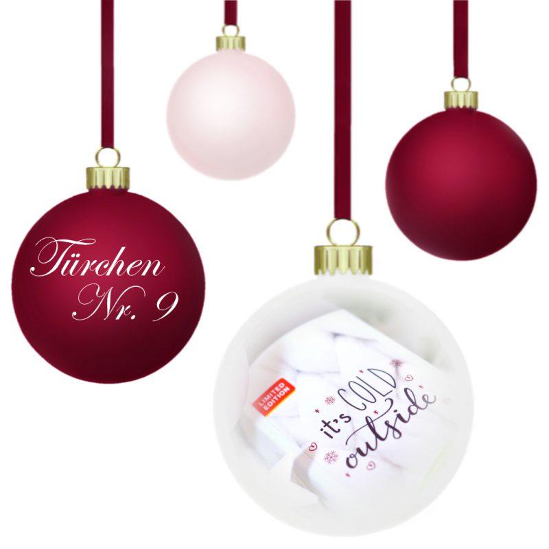 <span style='font-size: large;'>Weihnachtszauber 2019 </span><br />Türchen N° 9 mit Alverde