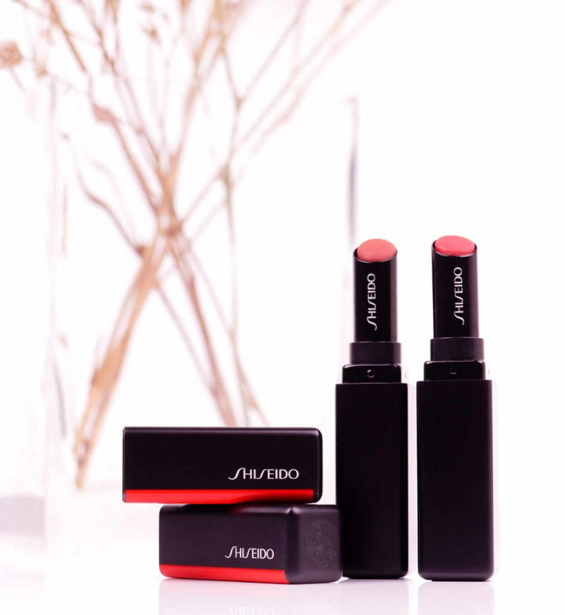 <span style='font-size: large;'>Shiseido </span><br />VisionAiry Gel Lipsticks 207 & 208