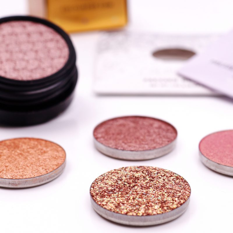 ColourPop Pressed Glitter & Powder Shadow: Renegade, Soo Good, So This Is Love, Come And Get It & Sugar Sugar